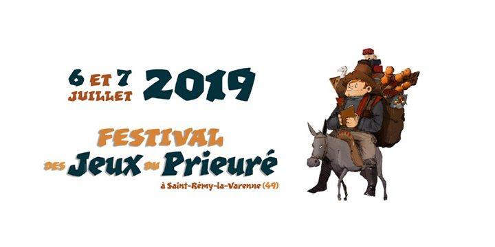 Festival des Jeux du Prieuré 2019 !